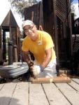 Volunteers also maintain the 16-year-old Kamalani Playground.
